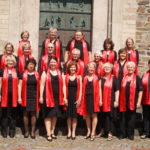 Gospelchor Joyful Voices vor der Reformationskirche