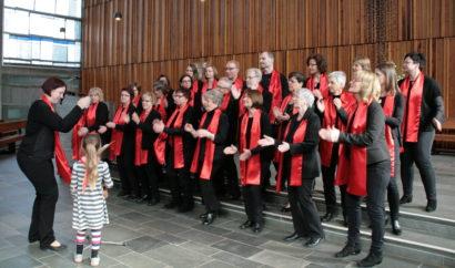 Auftritt Gospelchor Friedenskirche 2017, Amnesty Gottesdienst