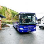 Bus Ankunft CD Aufnahme 2016 Gospelchor