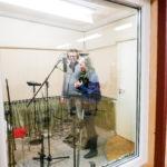Im Tonstudio, Solo, CD Aufnahme 2016 Gospelchor