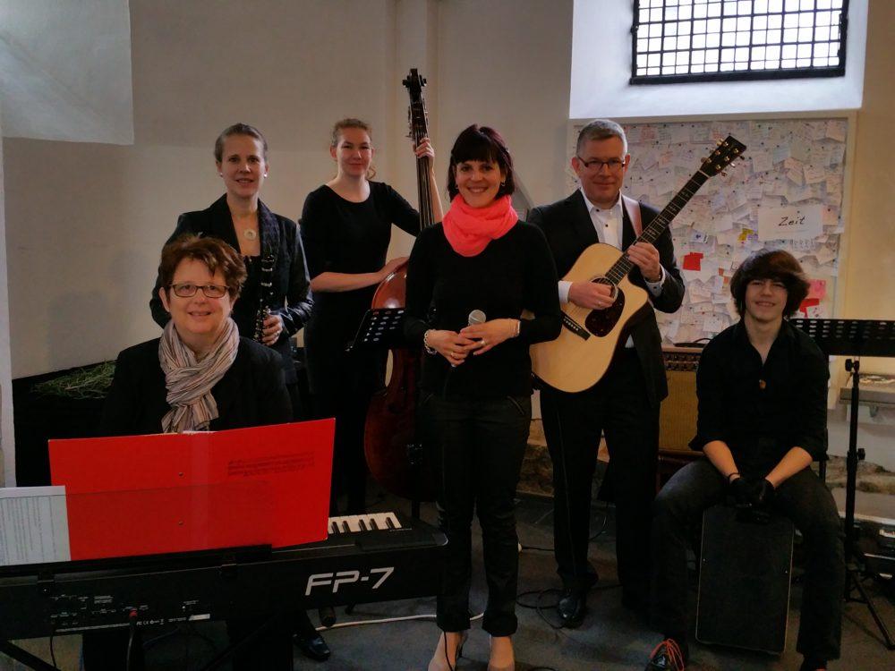 Band Grenzenlos, Konfirmationsgottesdienst 06.05.17, Reformationskirche