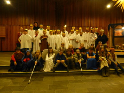 Friedensspatzen in der Friedenskirche