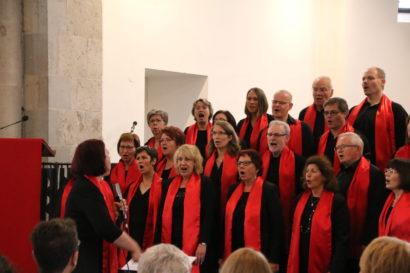 Probe Gospelchor Reformationskirche am 14.05.17