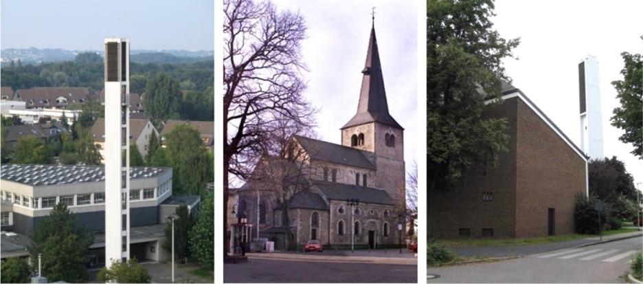 alle ev. Kirchen in Hilden