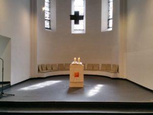 2017, Reformationskirche letzter Gottesdienst ohne Prinzipalstücke, Haas