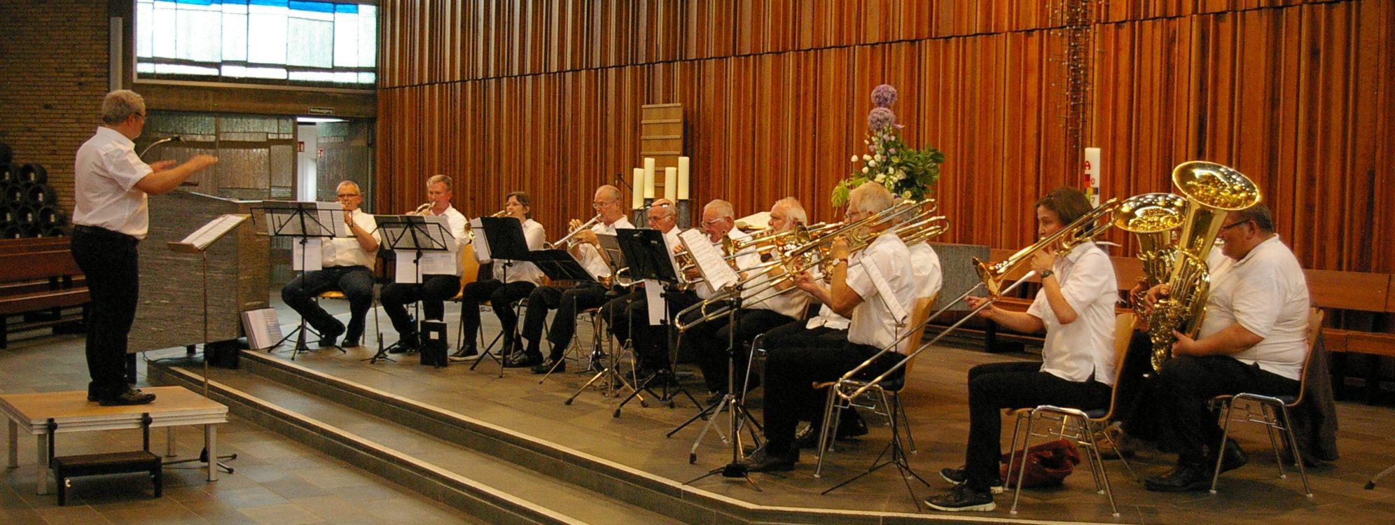 Posaunenchor, Konzert in der Friedenskirche