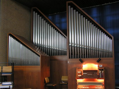 Orgel der Friedenskirche in Hilden