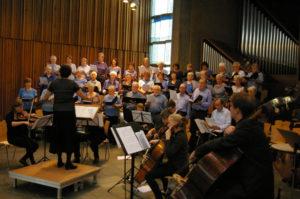 Diakoniechor und Orchester