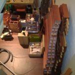 Orgelbaustelle Platz begrenzt