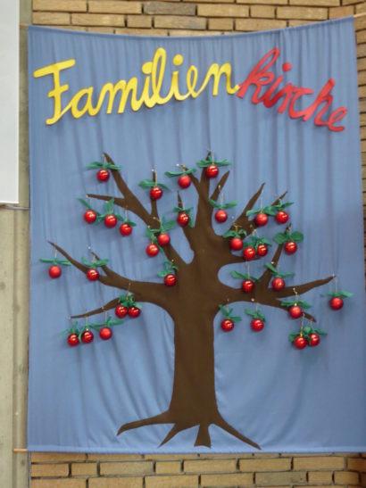 Familienkirchenbaum mit Namen