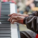 Pianist des Gospelchores