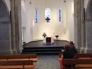 Reformationskirche innen, 10.09.2017