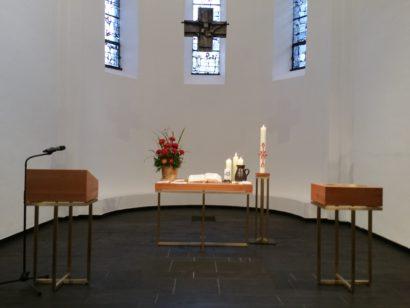 Die neuen Prinzipalstücke am 29.10.2017 in der Reformationskirche
