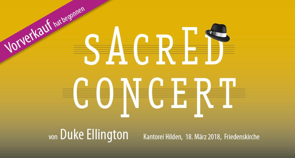 Sacred Concert von Duke Ellington