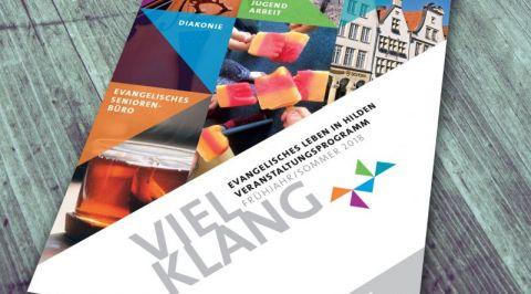 Vielklang Programm der evangelischen Erwachsenenbildung Hilden 1-2018