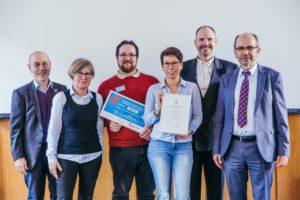 Gruppenfoto mit Präses Manfred Rekowski und Kirchenrat Volker König