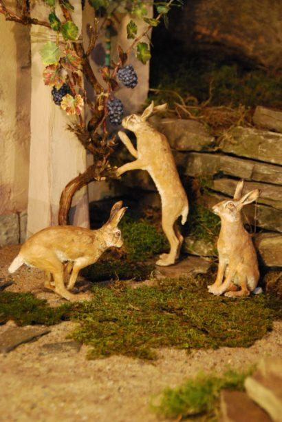 Die drei Hasen der Krippe Erlöserkirche