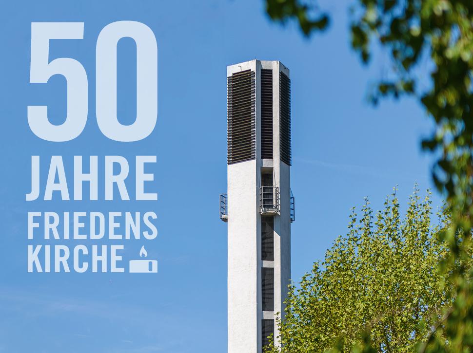 Turm der Friedenskirche