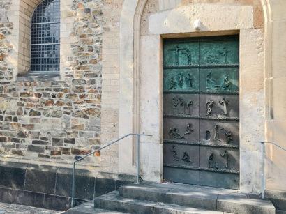 Portal der Reformationskirche