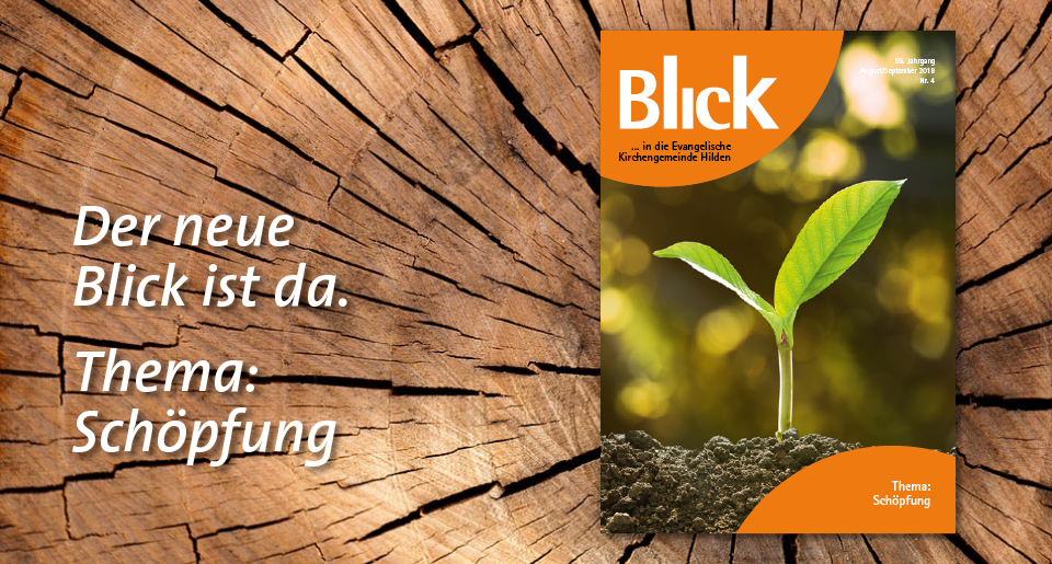 Gemeindebrief Blick August-September 2018