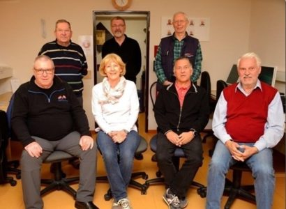 Das Team des Senioren Internet Cafe
