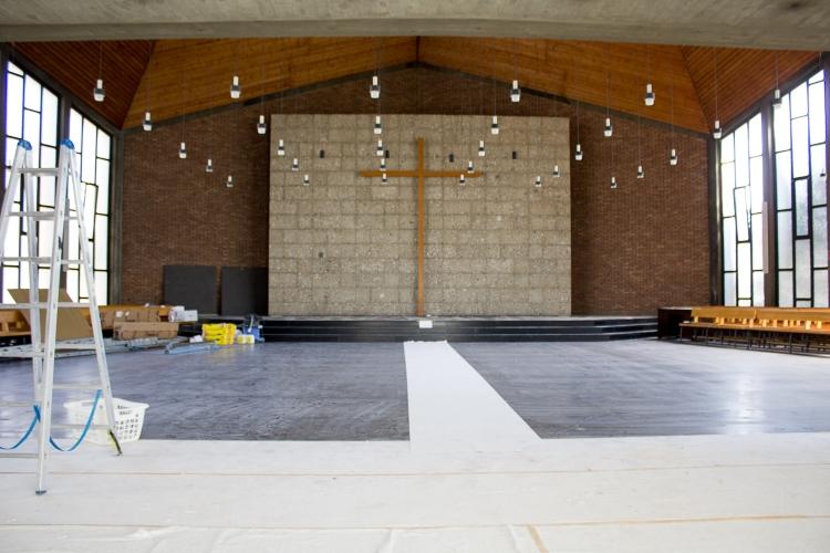 Umbau Erlöserkirche 2018