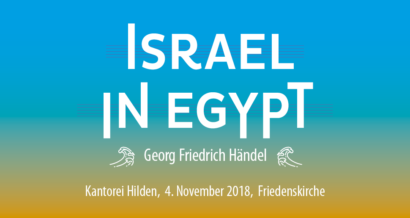 Konzert Israel in Egypt von Georg Friedrich Händel