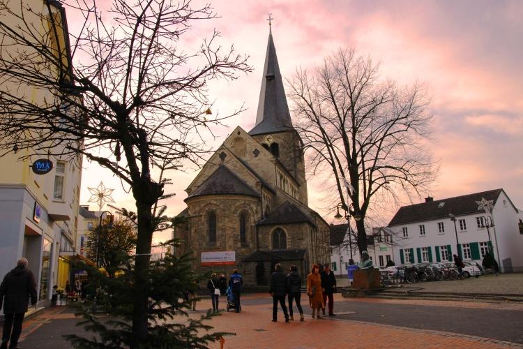 Reformationskirche Hilden Winter