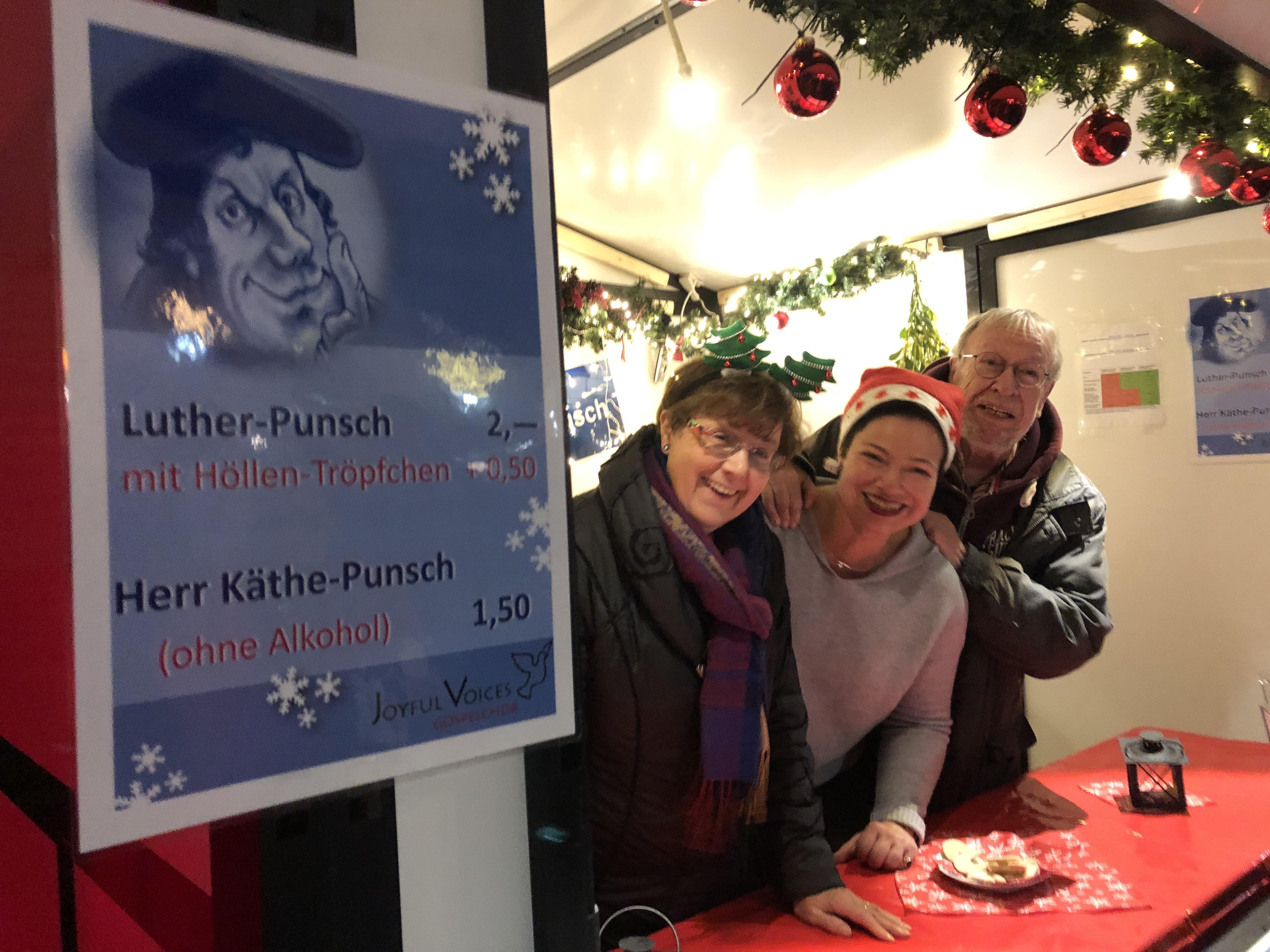 Luther-Punsch auf dem Weihnachtsmarkt