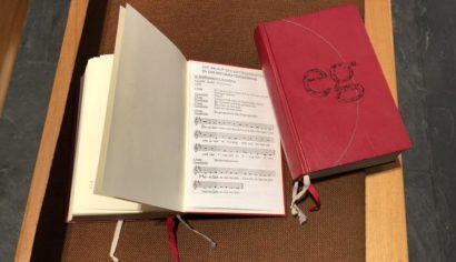 Gottesdienstablauf im Gesangbuch Reformationskirche