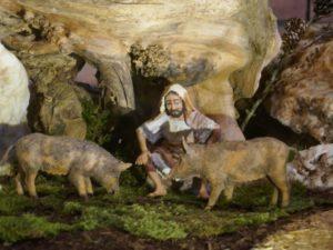 Krippe Erlöserkirche Der Schweinehirt