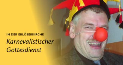 Pfarrer Joachim Rönsch ist Jeck