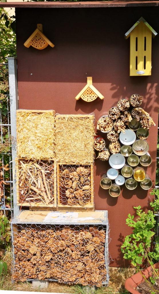 Insektenhotel in der Kita Friedenskirche
