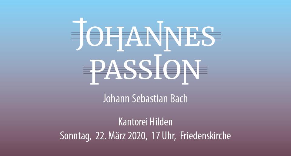 Slider-Johannespassion-Bach