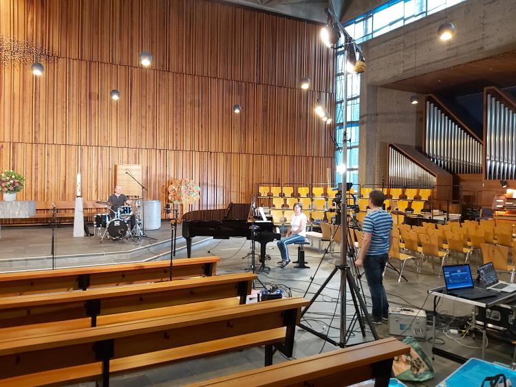 Making of Musikvideo Christoph Simons und Dorothea Haverkamp