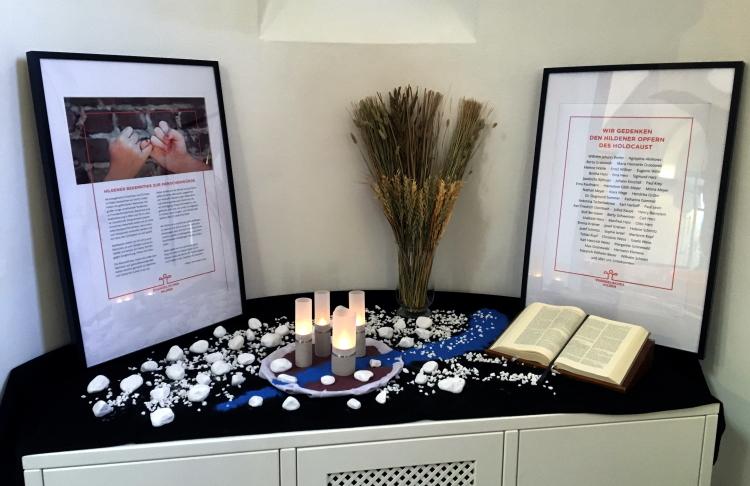 Das Hildener Bekenntnis und Gedenken der Opfer des Holocaust in Hilden
