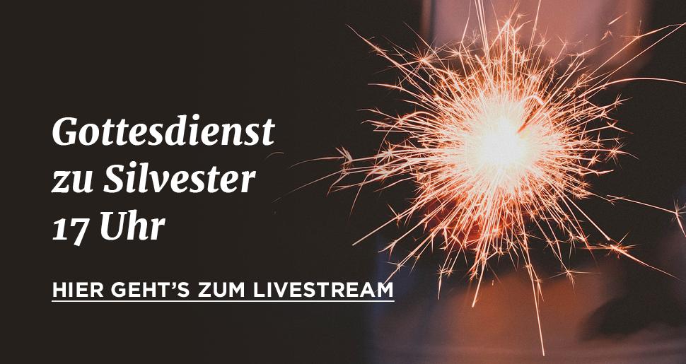 Brennende Wunderkerze – Hier geht es ab 17 Uhr zum Lifestream des Silvestergottesdienstes