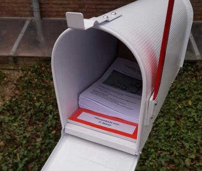 Briefkasten an der Erlöserkirche