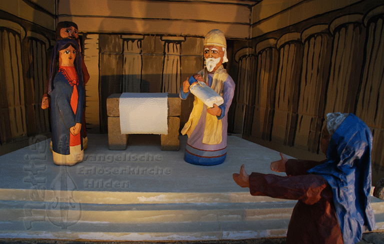 Darstellung des Tempels